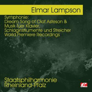 Lampson: Dream Song of Olaf Asteson - Musik fuer Klavier, Schlaginstrumente und Streicher  - World Premiere Recordings
