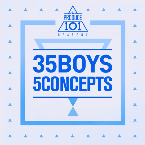 「Produce 101」熱門歌曲排行