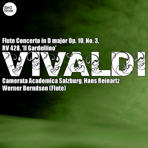 Vivaldi: Flute Concerto in D major Op. 10, No. 3, RV 428, 'Il Gardellino'