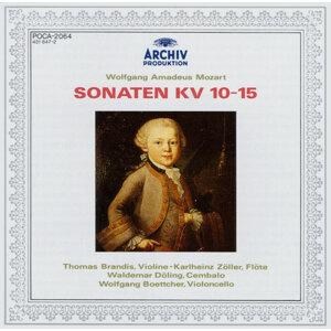 Mozart, W.A.: Sonatas K.10 - 15