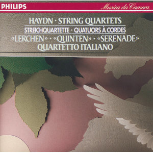 Haydn: 3 String Quartets Opp.3 No.5, 64 No.5 & 76 No.2