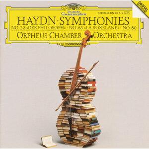 """Haydn: Symphonies No. 22 """"Der Philosoph"""", No. 63 """"La Roxelane"""", No. 80"""