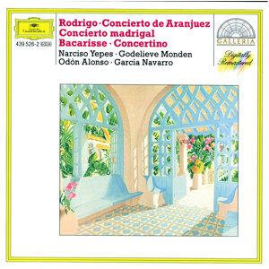 Rodrigo: Concierto de Aranjuez; Concierto madrigal / Bacarisse: Concertino