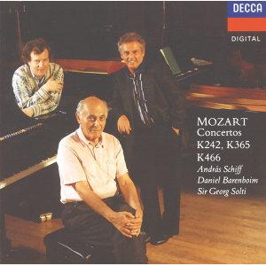 Mozart: Piano Concerto No.20; Concerto for 2 Pianos; Concerto for 3 Pianos