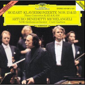 Mozart: Piano Concertos No.13 KV 415 & No.15 KV 450