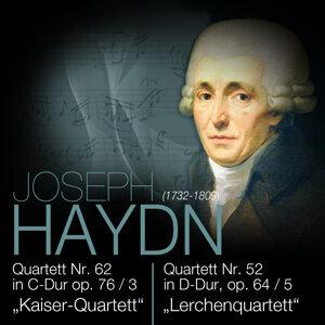 "Haydn: Quartett Nr. 62 in C-Dur op. 76/3 ""Kaiser-Quartett"" & Quartett Nr. 52 in D-Dur, op. 64/5 ""Lerchenquartett"""