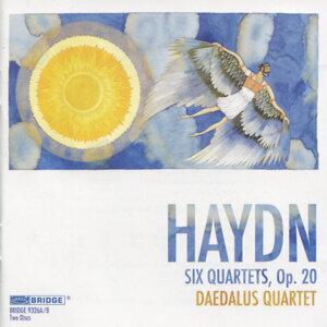 Daedalus Quartet: Haydn Recording
