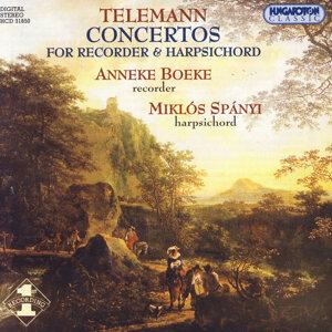 Telemann: 6 Concertos for Recorder & Harpsichord (1734) - Nos.1-4