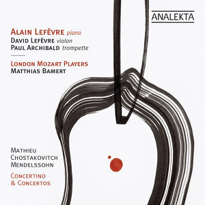 Mathieu, Shostakovich, Mendelssohn: Concertino & Concertos