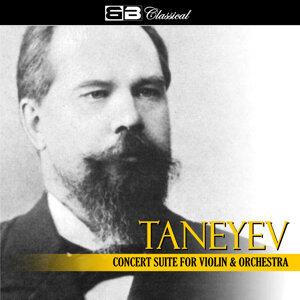 Tanejev Concert Suite for Violin & Orchestra