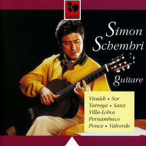 Classical Guitar: Vivaldi, Sor, Tarrega, Sanz, Villa-Lobos, Pernambuco, Ponce & Valverde