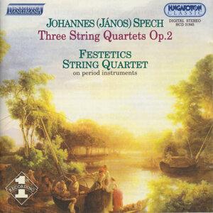 Three String Quartets Op.2