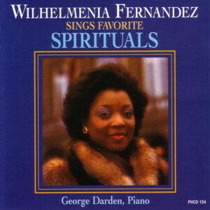 "WILHELMENIA FERNANDEZ sings ""Favorite Spirituals"""
