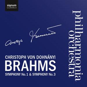 Brahms Symphony No. 1 & Symphony No. 3