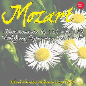 """Mozart: Divertimento K. 136 - K. 138 """"Salzburg Symphony No. 1 - 3"""""""