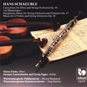 Hans Schaeuble: Orchesterwerke
