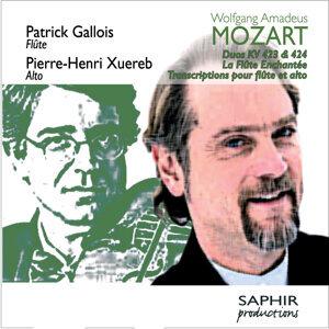 Wolfgang Amadeus Mozart: Duos KV 423 & KV 424 - La flûte enchantée (transcriptions pour flûte et alto)