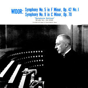 Widor Symphony No 5 & 9