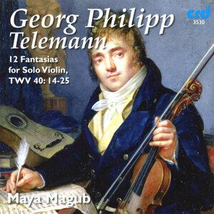Telemann: 12 Fantasias for Solo Violin, TWV 40: 14-25