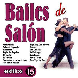 Bailes de Salón. 15 Estilos