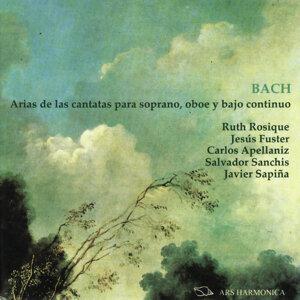 Bach: Arias de las cantatas para soprano, oboe y bajo continuo