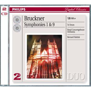 Bruckner: Symphonies Nos.1 & 9; Te Deum - 2 CDs
