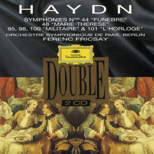 "Haydn: Symphonies Nos. 44 ""Trauer""; 48 ""Maria Theresia""; No. 95, 98, 100 ""Militär"" & 101 ""Die Uhr"""