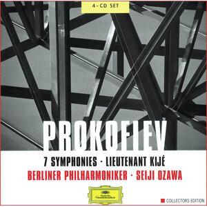 Prokofiev: 7 Symphonies; Lieutenant Kijé - 4 CD's