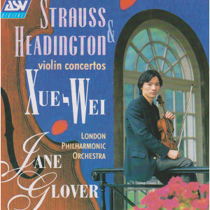 Strauss & Headington: Violin Concertos