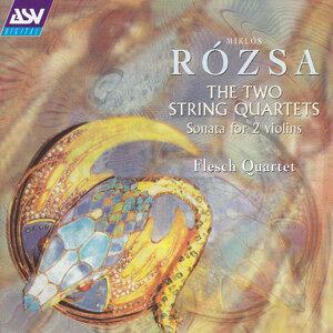 Rozsa: The 2 String Quartets