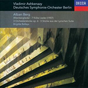 Berg: Altenberg-Lieder; 7 Frühe Lieder; 3 Pieces from 'Lyric Suite', etc.