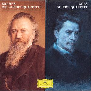 """Brahms: String Quartets Op. 51 Nos. 1&2; String Quartet No. 3, Op. 67 / Wolf: String Quartet In D Minor """"Entbehren Sollst Du, Entbehren"""""""