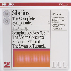 Sibelius: The Complete Symphonies, etc., Vol.2 - 2 CDs