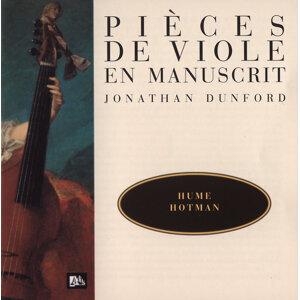 Hume-Ford-Hotman-Dubuisson-Verdufen - Pièces de viole en manuscrit