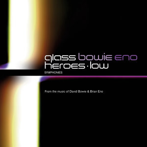 Philip Glass: Low Symphony & Heroes Symphony - 2 CDs