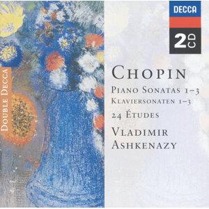 Chopin: Piano Sonatas Nos. 1 - 3; 24 Etudes; Fantaisie in F minor - 2 CDs