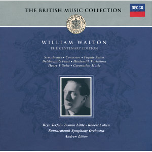 Walton: Centenary Edition - 4 CDs