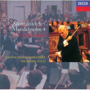 Mendelssohn: Symphony No.4/Shostakovich: Symphony No.5