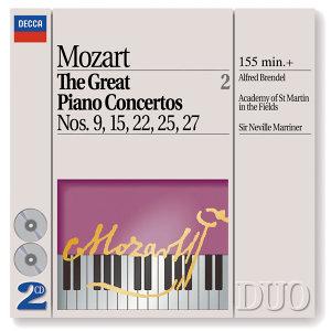 Mozart: The Great Piano Concertos Nos. 9, 15, 22, 25 & 27 - 2 CDs