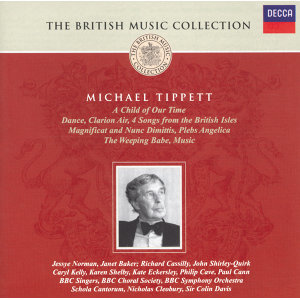 Tippett: A Child of our Time etc - 2 CDs