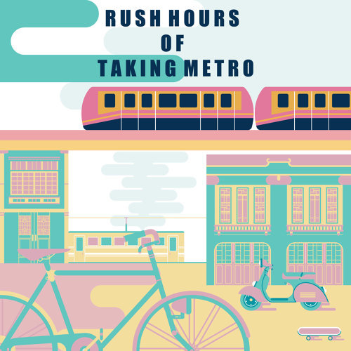 通勤人.捷運:Rush Hours of Taking Metro