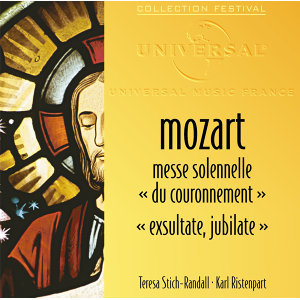"""Messe Solennelle """"Du Couronnement""""-Exsultate jubilate-Vêpres Solennelle D'Un Confesseur"""