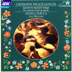 Sances: Sacred and Secular Songs for Soprano, Harp and Guitar