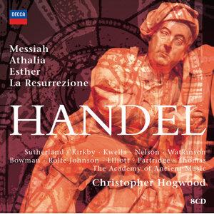 Hogwood conducts Handel Oratorios - 8 CDs