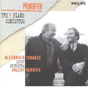 Prokofiev: The Five PIano Concertos - 2 CDs