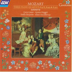 Mozart: 3 Piano Quartets, K478, K493, K452