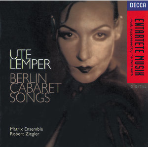 Berlin Cabaret Songs - Sung in German