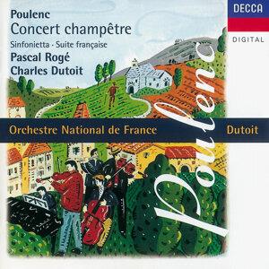 Poulenc: Concert champêtre/Suite française/Sinfonietta etc.