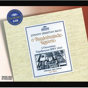 Bach: 6 Brandenburg Concertos; 4 Ouvertures; Tripel Concerto BWV 1044 - 3 CDs