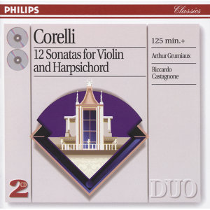 Corelli: 12 Sonatas for violin & harpsichord - 2 CDs